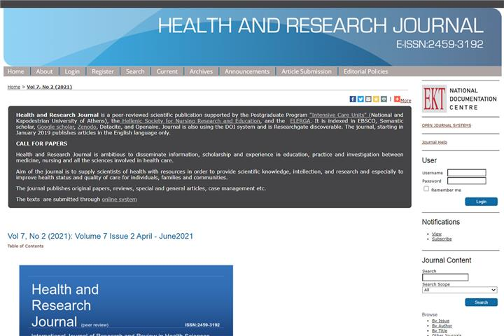 Health & Research Journal